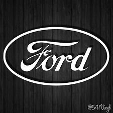 "Ford Retro Logo 7"" Vinyl Decal mustang shelby GT jdm funny racing car stickers"