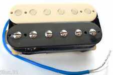 Neuf -  HUMBUCKER Noiseless - bridge- black & cream - 8,8k pour GIBSON, FENDER .