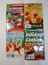 Christmas Cookies, Candy, Bar Cookies Recipe Books and Halloween Book Paperbacks