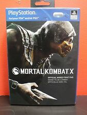 Official PDP PlayStation Mortal Kombat X Wired Fight Pad Controller PS3/PS4 *NEW