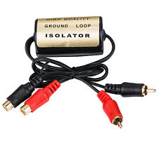 APS GROUND LOOP ISOLATOR NOISE SUPPRESSOR FILTER KILLER RCA to RCA 20 AMP AD-104