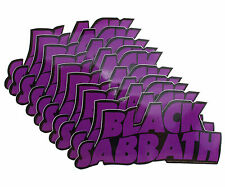10 x Black Sabbath Vintage Logo Official Vinyl Stickers Wholesale Price