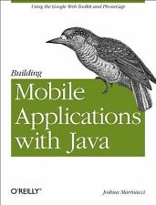 Building Mobile Applications with Java: Using the Google Web Toolkit and PhoneGa