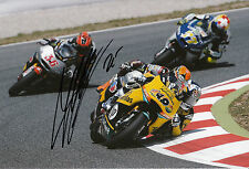 Maverick Vinales Hand Signed HP Pons Racing Kalex 12x8 Photo 2014 Moto2 12.