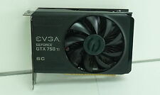 EVGA GeForce GTX 750Ti SC 2GB. Graphics Card 02G-P4-3753-KR. Faster than GTX 745