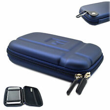"5inch Hard Shell HDD GPS Carry Case Bag 5"" Zipper Cover Pouch For Garmin Sat Nav"