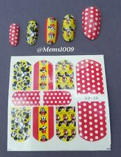 Mickey Mouse nail Decals ( water decals)  Mickey Mouse Nail wraps!