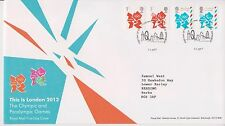 GB ROYAL MAIL FDC FIRST DAY COVER 2012 OLYMPIC BOOKLET DEFINITIVES BUREAU PMK