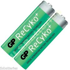 2 x AA 2000mAh GP ReCyKo Rechargeable NI-MH 2000 mAh Phone Batteries