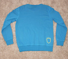New $75 Brasil Brazil PUMA Sweatshirt MEN'S MEDIUM M Soccer Futbol Light Blue