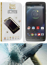 HARD TEMPERED GLASS LCD SCREEN GUARD PROTECTOR FOR MOTOROLA DROID TURBO XT1254