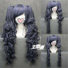 Black Butler Kuroshitsuji CIEL long Phantomhive Ponytail Cosplay Anime Wig + NET