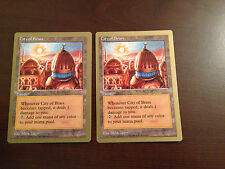 Magic the Gathering MTG CITY OF BRASS GB x2