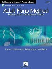 Hal Leonard Student Piano Library Adult Piano Method - Book 1/CD: Book/CD Pack,