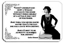 Date with destiny  CoCo Chanel Couture Metal  SIGN