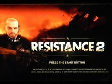 Resistance 2 (Playstation 3 PS3) Case and Disc Only - Cleaned & Tested