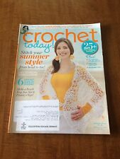 CROCHET TODAY! - July/August 2011 -- Back Issue (Out of Print)