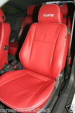 VAUXHALL OPEL ASTRA H RED SEAT COVERS