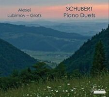 Schubert/Lubimov/Grotz - Piano Duets [CD New]