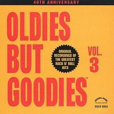 Oldies but Goodies, Vol. 3 CD  Various Artists, 1990, Original Recordings NEW