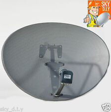 Zone 2 Sky Satellite Dish & Octo LNB HD Freesat PVR Plus Hotbird Polsat 80cm