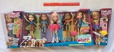 Bratz Hello My Name Is Doll Lot of 7 Jade Yasmin Cloe Sasha Meygan Raya Cameron