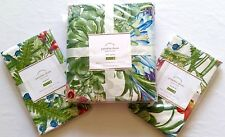 NEW! Pottery Barn Paradise Full / Queen Duvet Cover & 2 Standard Pillow Sham Set