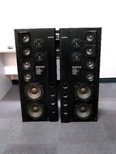 Mitsubishi Diatone VS-100F Tower speakers set: Woofers, Tweeters, Crossovers