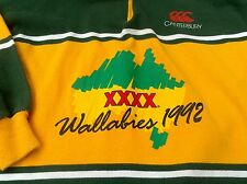 Canterbury Wallabies 1992 rugby shirt vintage (M) Mens