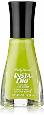 SALLY HANSEN Insta-Dri LICKETY SPLIT LIME - BRIGHT NEON GREEN FINGERNAIL POLISH