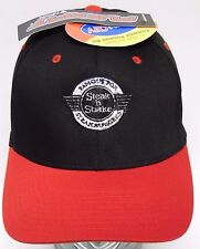 New Tags STEAK 'N SHAKE ADVERTISING WORK UNIFORM HAT FLEXFIT S/M Hat Uniform Cap