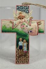 Jim Shore 'Guardian Angel Cross' With Children Ornament #4008104 NEW!