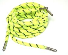 """140cm 56"""" Rope shoe laces Boot Laces with Metal Tips Aglets 8 color"""