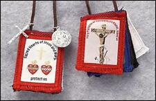 Five Fold Scapular + St Benedict Rosary + Medals + Holy Cards + Face of Jesus