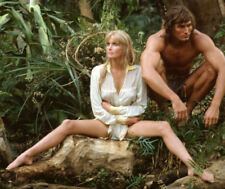 Miles O'Keeffe and Bo Derek UNSIGNED photo - 6398 - Tarzan, the Ape Man