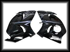 ABS Injection Molding Side Fairings For Suzuki 2008-2015 Hayabusa GSX1300R Black