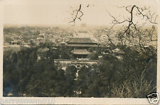 China Chinese Original real Photograph forbidden city Peking  HPP2