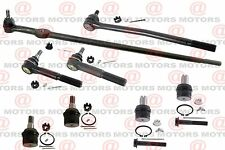 Inner Outer Tie Rods Upper Lower Ball Joints For F-250 Super Duty RWD 05 To 07