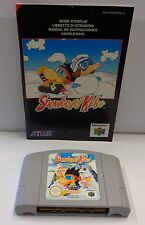 Gioco Game Console N64 NINTENDO 64 Play PAL EUR - SNOWBOARD KIDS - ATLUS - Sci -