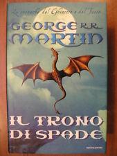 George R R Martin IL TRONO DI SPADE le cronache del ghiaccio e del fuoco 1° 1999