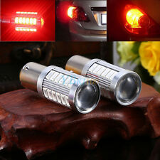 2PCS 5730 33-SMD LED Red BAY15D 1157 Car Tail Stop Brake Reverse Light Bulb