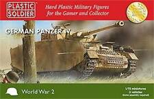Plastic Soldier - PSC WW2 V20002-7206 WWII German Panzer IV Tank