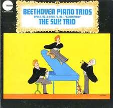 THE SUK TRIO & PANENKA/ BEETHOVEN Piano Trios Opus 1,No.3 & 70, Geistertrio / NM
