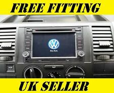 VW sat nav dvd player bluetooth android Transporteur T5 T28 T30 caravelle van GPS