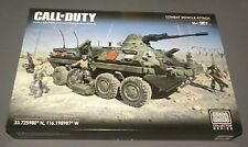 Call of Duty Combat Vehicle Attack Tank Mega Bloks Collector Series Set CNG87