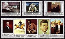Sharjah 1968 ** Mi.448/55 A Gemälde Paintings Homer Rockwell Wood Remington