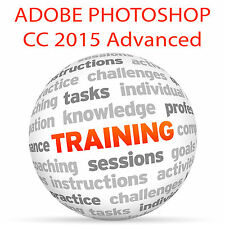 Adobe Photoshop Cc 2015 Advanced-Video Tutorial DVD de entrenamiento