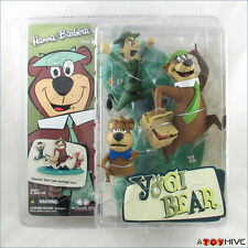 Hanna Barbera Yogi Bear Boo Boo Ranger cartoon figures McFarlane Toys -worn dent