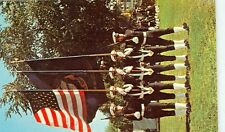 ANNAPOLIS, MD-THE COLOR GUARD OF THE BRIGADE OF MIDSHIPMEN-(MNA-30*)