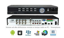 STAND ALONE DVR 8 CANALI 4 Audio 8 Video + LAN+H264-3G